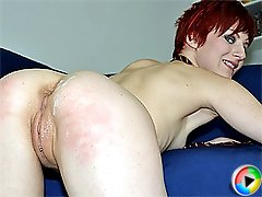 Slut with red hair