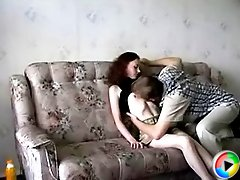 Hot teen redhead enjoys a wild fuck with a much older man